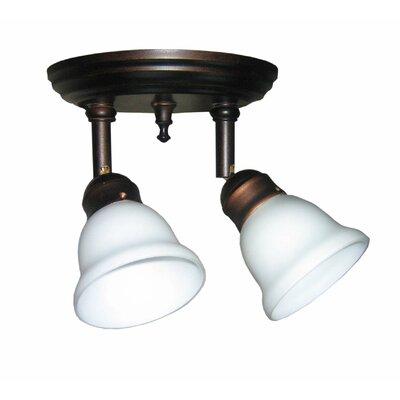 Odette 2 Light Pan Light Product Photo