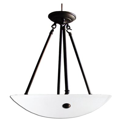 Kirsten 3 Light Bowl Chandelier Product Photo
