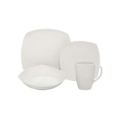 Square 32 Piece Place Setting by Melange