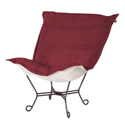 Bella Scroll Puff Lounge Chair by Howard Elliott