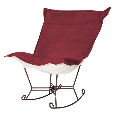 Bella Scroll Puff Rocking Chair by Howard Elliott