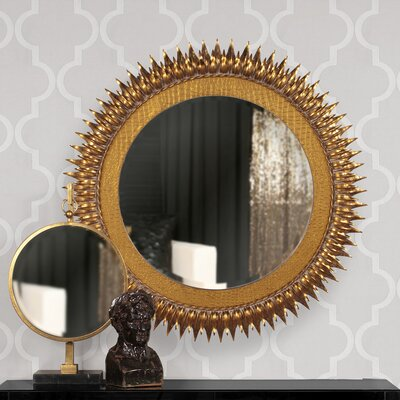 Medallion Mirror by Howard Elliott