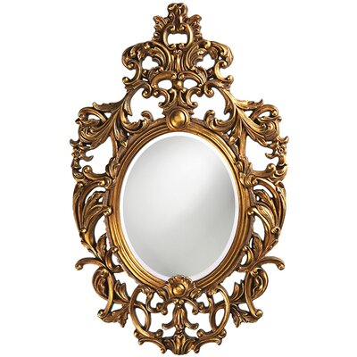 Ornate Dorsiere Wall Mirror by Howard Elliott