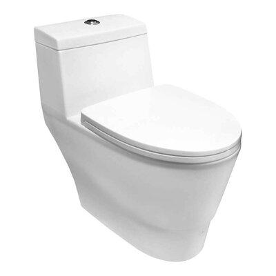 1.58 GPF Dual Flush Toilet Product Photo