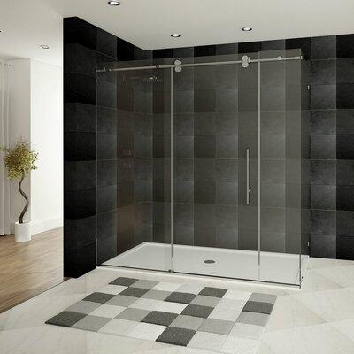 "Ultra-C 62"" x 60"" Sliding Glass Bath Tub Door Product Photo"