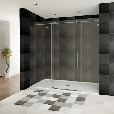 "Ultra-C 76"" x 72"" Sliding Glass Shower Door Product Photo"