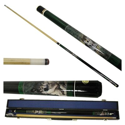 Trademark Games Wolf Pool Stick in Gray