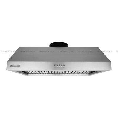 "Ultra 36"" 900 CFM Under Cabinet Range Hood in Brushed Product Photo"