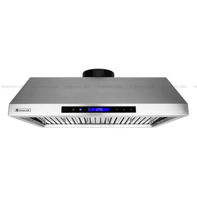 "Pro-X 36"" 900 CFM Under Cabinet Range Hood in Brushed Product Photo"