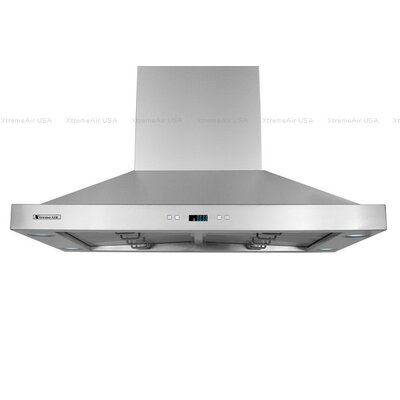 """Pro-X 36"""" 900 CFM Island Range Hood in Stainless Steel Product Photo"""