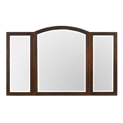 Santa Cruz Three-panel Wall Mirror by Luxe Bath Works