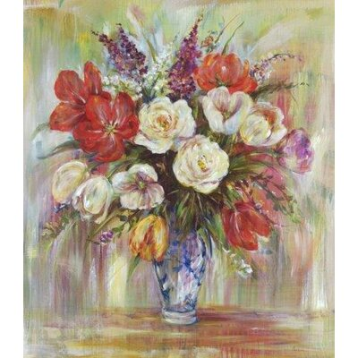 The Chinese Vase by Douglas Painting Print on Canvas by Portfolio Canvas
