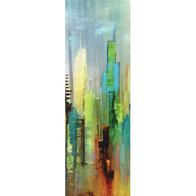 Steel Rising Panel I by Dominick 2 Piece Painting Print on Wrapped Canvas Set by ...