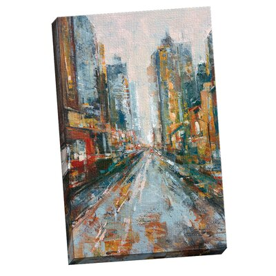 City View I by Jill Barton Painting Print on Wrapped Canvas by Portfolio Canvas