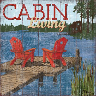 Lake Living I.png - Shortcut by Paul Brent Painting Print on Wrapped Canvas by Portfolio ...