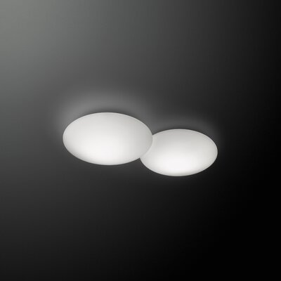 Puck 2 Light Flush Mount by Vibia