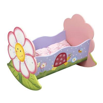 Magic Garden Rocking Bed for Dolls by Fantasy Fields