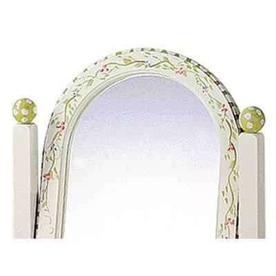 Fantasy Fields Alphabet Standing Mirror in White