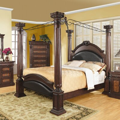 Whitewright Canopy Bed by Wildon Home ®