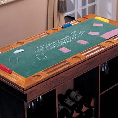 Wildon Home ® Gaming Casino Roulette Table