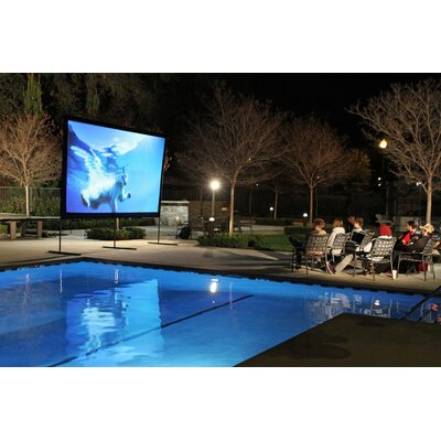 Elite Screens YardMaster Foldable Outdoor Portable Light Weight Front Projection Movie Screen
