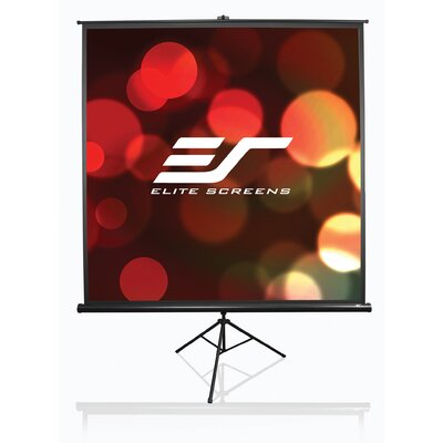 Elite Screens Tripod Series Portable Pull up Projector Projection Screen