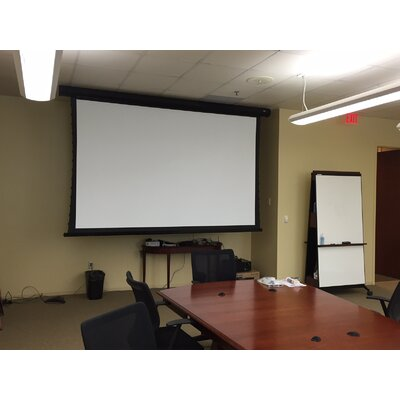 """Elite Screens CineTension2 84"""" diagonal Tab-Tensioned Electric Projection Screen"""