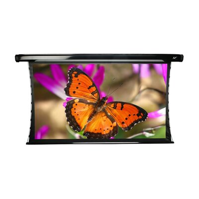 """Elite Screens CineWhite CineTension2 Series 64"""" Overall Height Tension Electric Motorized Screen - 84"""" Diagonal"""