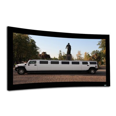 Elite Screens Lunette Series Curved Fixed Frame Projection Screen