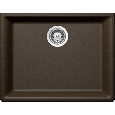 "Galaxy 23.63"" x 18.31"" Cristadur Undermount Single Bowl Kitchen Sink Product Photo"