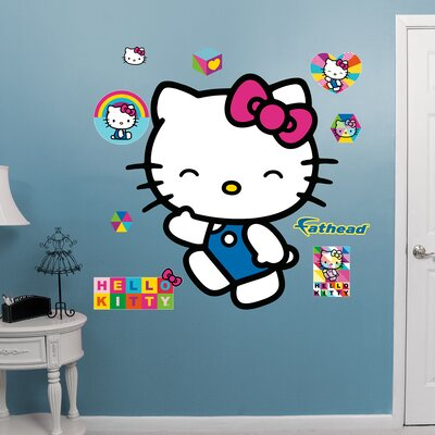 Hello Kitty Wave Peel and Stick Wall Decal