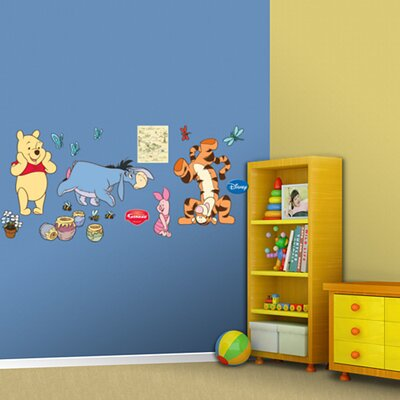 Fathead Winnie The Pooh and Friends Wall Decal