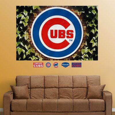 Fathead MLB Chicago Cubs Ivy Logo Wall Mural