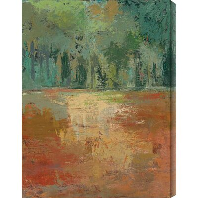 Arbor Vitae I by Caroline Ashton Painting Print Canvas by Gallery Direct