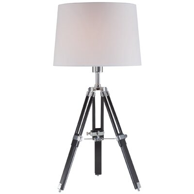 """Lite Source Jiordano 30.5"""" H Table Lamp with Drum Shade"""