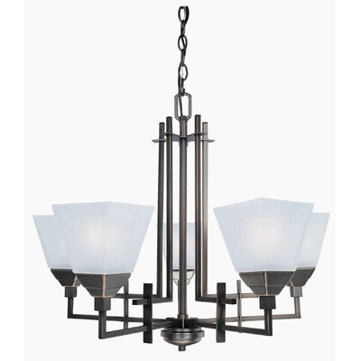 Lite Source 5 Light Chandelier