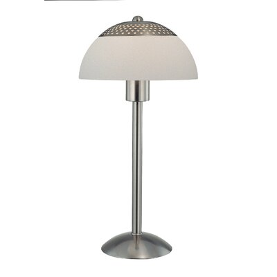"""Lite Source Impressionate 23"""" H Table Lamp with Bowl Shade"""
