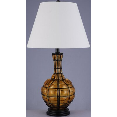"""Lite Source Abeilles II 29"""" H Table Lamp with Empire Shade"""