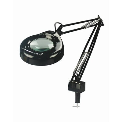 "Lite Source Magnify-Lite Magnifying 40.5"" H Table Lamp with Drum Shade"