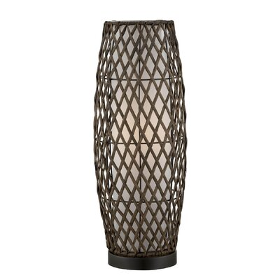 """Lite Source Reaves 18.25"""" H Table Lamp with Drum Shade"""