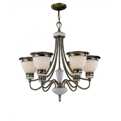 Lite Source Carter 6 Light Chandelier