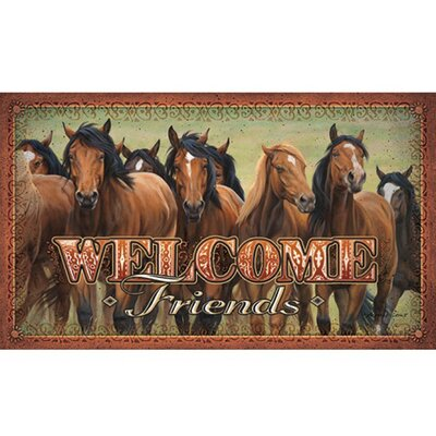 Horses Welcome Mat
