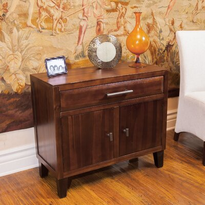 Somerset Acacia Wood Storage Chest by Home Loft Concepts