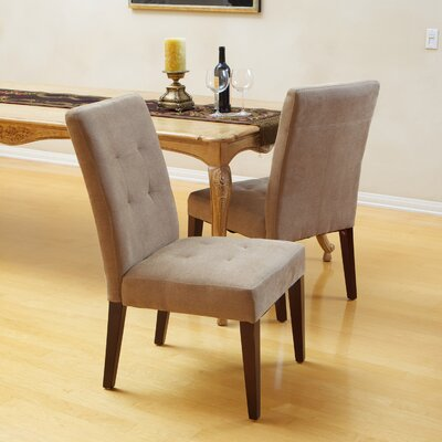 Talib Tufted Leather Dining Chair by Home Loft Concepts