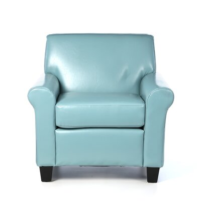 Stazzo Faux Leather Club Chair by Home Loft Concepts