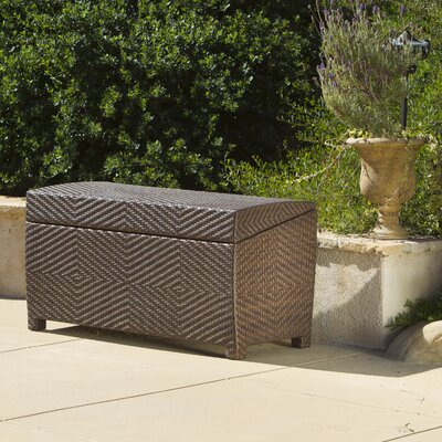 Home Loft Concepts Managua Outdoor Wicker Deck Box