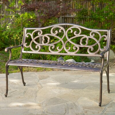 Home Loft Concepts Nelson Cast Outdoor Bench