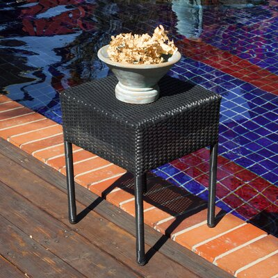 Anchorage Wicker Outdoor Accent Table by Home Loft Concepts