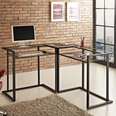 Home Loft Concepts Corner X-Frame Computer Desk