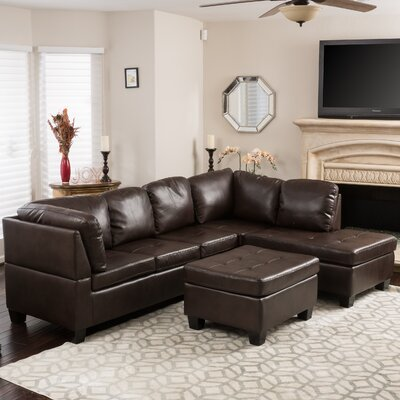 Evan Sectional Sofa by Home Loft Concepts